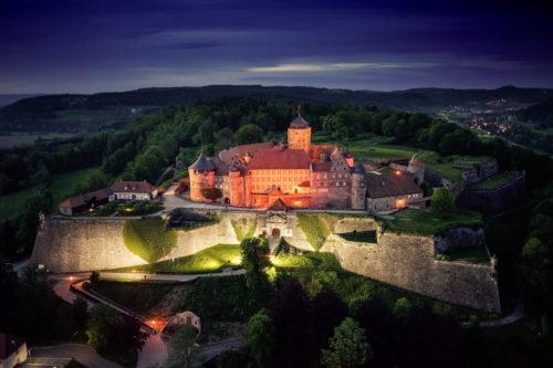 Festung Rosenberg bei Nacht_Bildrechte Dr. Otmar Fugmann